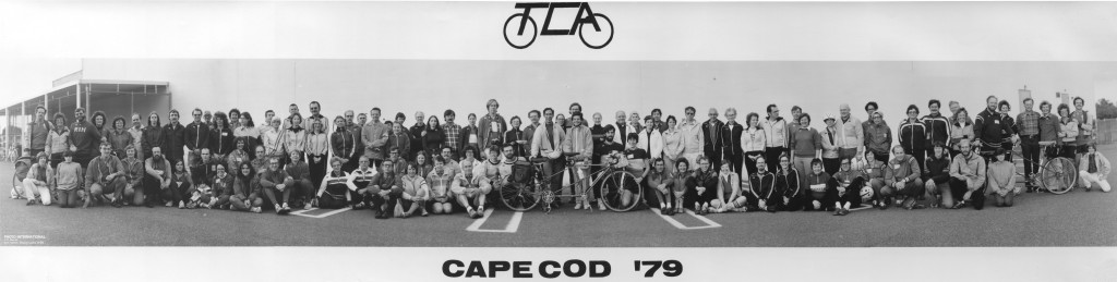 Eastern Tandem Rally Cape Cod 1979 Cirkut panorama numbered sm