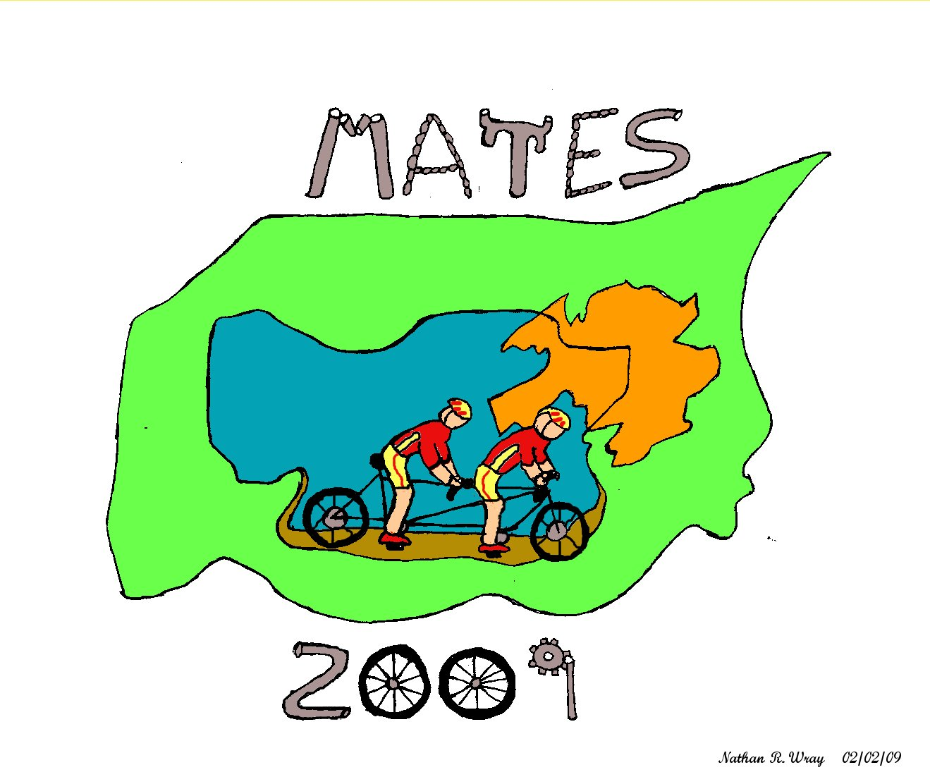 MATES 2009 Logo