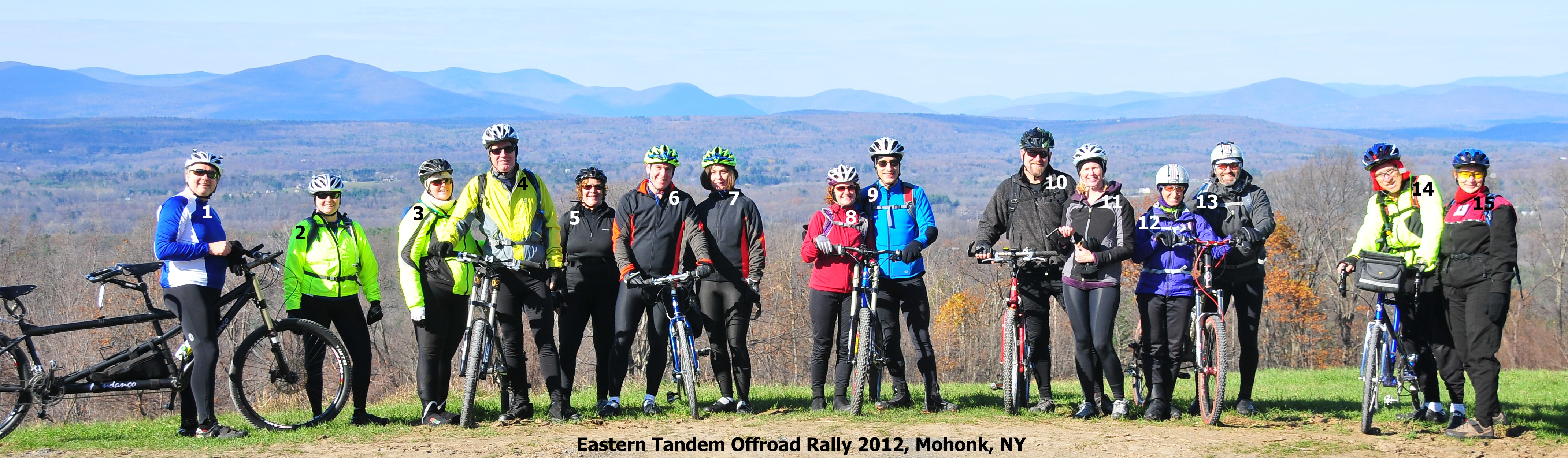 Eastern Tandem Offroad Rally 2012, Spring Farm Overlook, Mohonk Preserve, NY